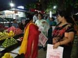 कीनाराम आश्रम से अस्सी घाट तक झाडू के साथ रैली