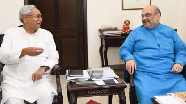 लोकसभा चुनावः अमित शाह-नीतीश कुमार की कल होगी मुलाकात, सीट बंटवारे पर बन सकती है सहमति