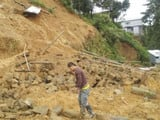 Nine killed in landslide in Manipur