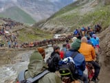 The 60-day annual Amarnath yatra commenced on June 28 and 73,023 pilgrims had 'darshan' of the natur