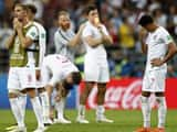 fans and england team players get emotional after loosing th match against croatia