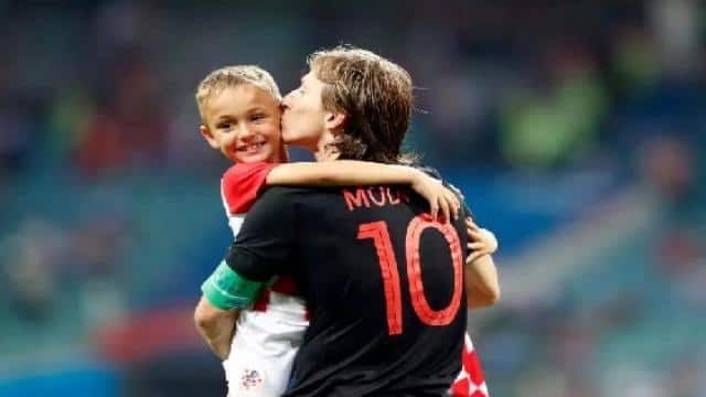 Family man Modric has a son called Ivano