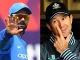 Virat Kohli and Ricky Ponting