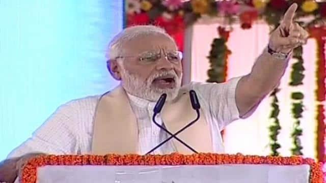मिदनापुरः PM मोदी का ममता पर निशाना, बंगाल में चल रहा 'सिंडिकेट राज'