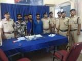 आरपीएफ ने चोरी के गेहूं के साथ चार आरोपियों को किया गिरफ्तार