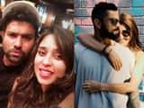 Rohit Ritika and Virat Anushka