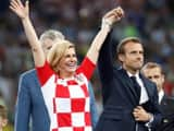 fifa: croatian president kolinda grabar wins the heart with her celebration at final match