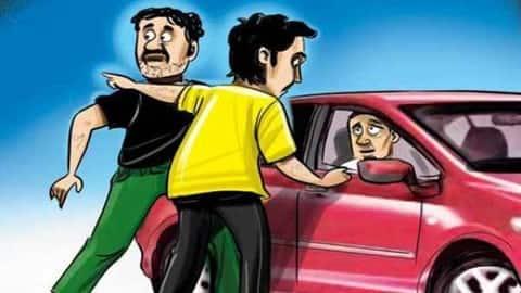 लुटेरों ने सिरसा जाने को बुक कराई कार, आंखों में मिर्च झोंक कार लूटकर हुए फरार