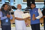 मिलक के लाल का दिल्ली में प्रधानमन्त्री ने किया सम्मान