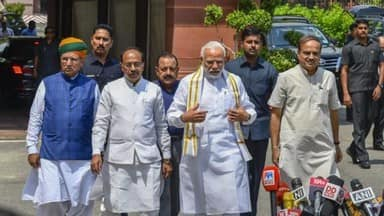 Lok Sabha to take up no-trust move against Narendra Modi