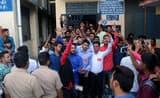 एमबीपीजी में हंगामे के चलते दूसरे दिन भी प्रवेश ठप