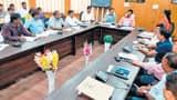 जिलास्तरीय समन्वय समिति की बैठक, घाटों से अवैध बालू उठानेवालों पर कार्रवाई का निर्देश,