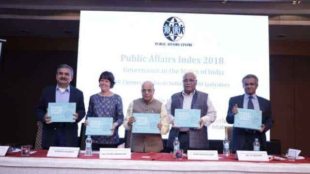 Madhya Pradesh, Jharkhand and Bihar ranked the lowest on the Public Affairs Index, indicating higher
