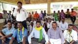 भ्रष्टाचार के विरोध में जेवीएम का सात दिनी महाधरना शुरू