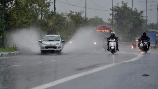 Heavy rain in Delhi-NCR