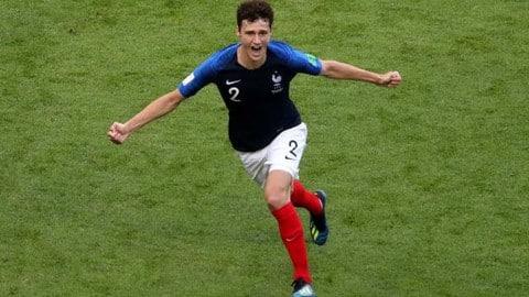 फ्रांस के बेंजामिन पवार्ड ने जीता FIFA WC 2018 में सर्वश्रेष्ठ गोल का अवॉर्ड