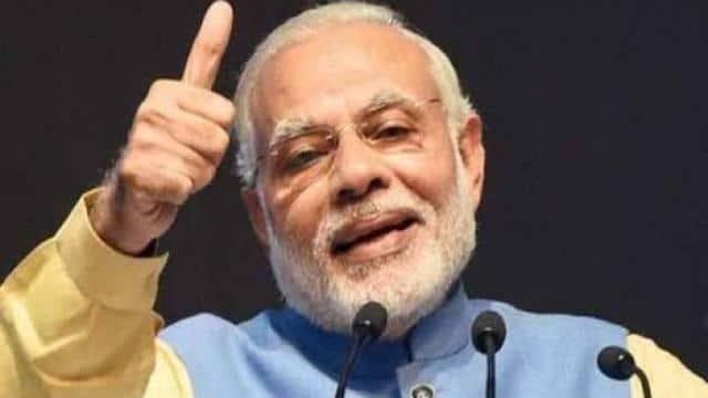 प्रधानमंत्री नरेंद्र मोदी को भगवा गमछा देने की मांगी अनुमति