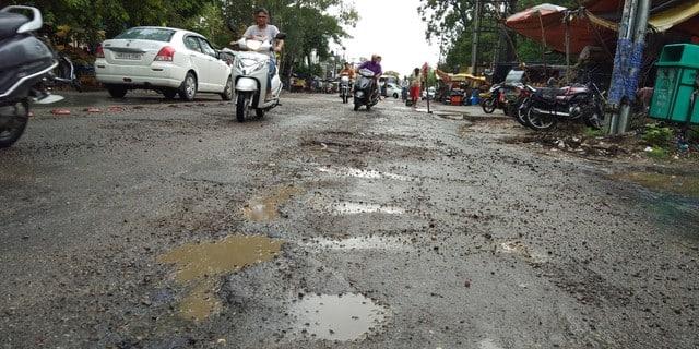 बारिश के बाद सहारनपुर बेहाल, सड़कें खस्ताहाल