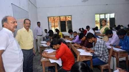 बीस केन्द्रों पर पीजी प्रवेश परीक्षा शांतिपूर्वक संपन्न