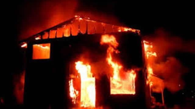 school burned in pakistan