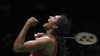 PV Sindhu beats Nozomi Okuhara enters semi-finals