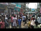 rampage and road block after jewelry businessman missing in lakhisarai