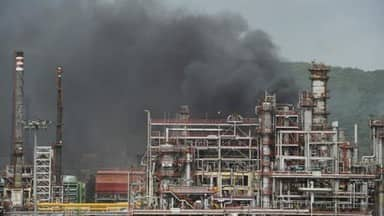 43 injured in massive fire at Bharat Petroleum plant near Mumbai