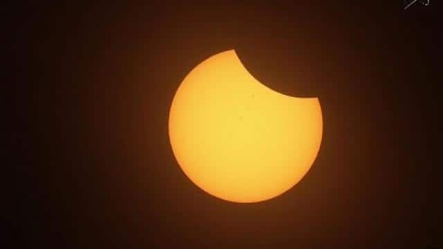 nasa solar eclipse live streaming: file photo