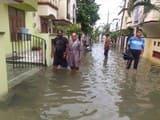 काशीपुर में जलभराव से गुस्साए लोगों ने लगाया जाम
