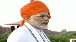 Hindustan Hindi News: स्वतंत्रता दिवस 2018: 15 अगस्त पर यूं बदलता रहा PM मोदी के साफे का रंग