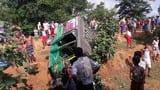 देवघर में सड़क हादसे में रिक्शा चालक की मौत
