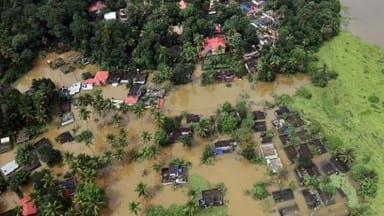 Continuous rain and floods batter Kerala