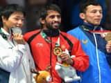Bajrang punia gold medal (photo - AP)