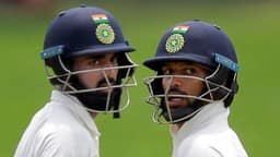 Lokesh Rahul and Shikhar Dhawan
