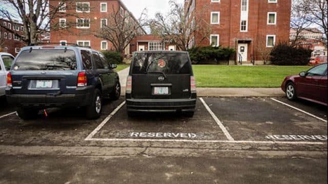 पार्किंग (साभारः OSU Transportation Services - Oregon State University)