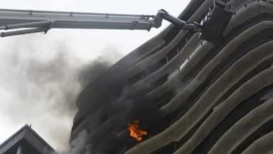 मुंबई के बहुमंजिला इमारत में शॉर्ट सर्किट के चलते लगी आग से गई 4 लोगों की जान