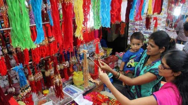 rakhi market के लिए इमेज परिणाम