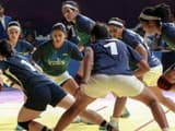 Indian Women's Kabaddi team suffers a loss from Iran to settle for Silver. (PC: IOA Twitter Handle)