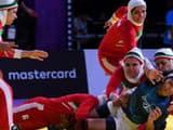 Iran women team wins gold beating india (photo - AFP)