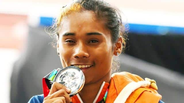 india's Hima Das, Dutee Chand and Muhammed Anas star on Day 8