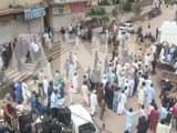 Protests in PoK (ANI Pic)
