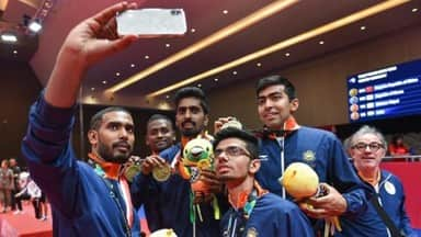 Indian men team gets historic table tennis bronze after losing to South Korea