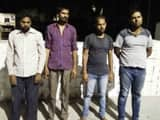 32 लाख की शराब संग चार को पुलिस ने दबोचा