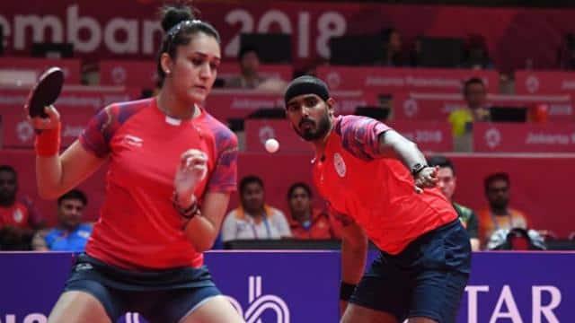 Achanta Sharath Kamal-Manika Batra lose in mixed doubles table tennis semis take bronze