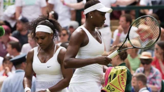 File Photo: serena williams venus williams