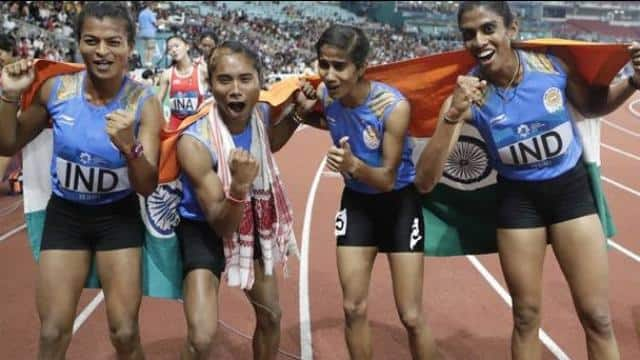 Indian Women's 4x400 Relay Team.jpg (PC: AP)