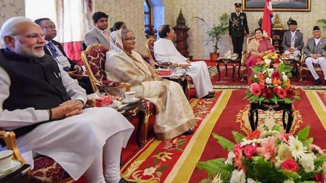 PM Modi arrives in Kathmandu for BIMSTEC Summit