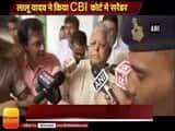 Lalu Prasad surrenders before CBI court in Ranchi