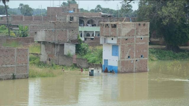 terror in public after water level increase of rivers