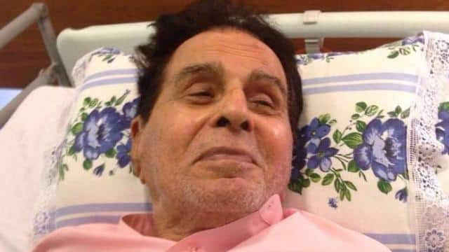 dilip kumar admitted to mumbai lilavati hospital
